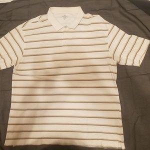 Dockers Mens Striped Polo Shirt